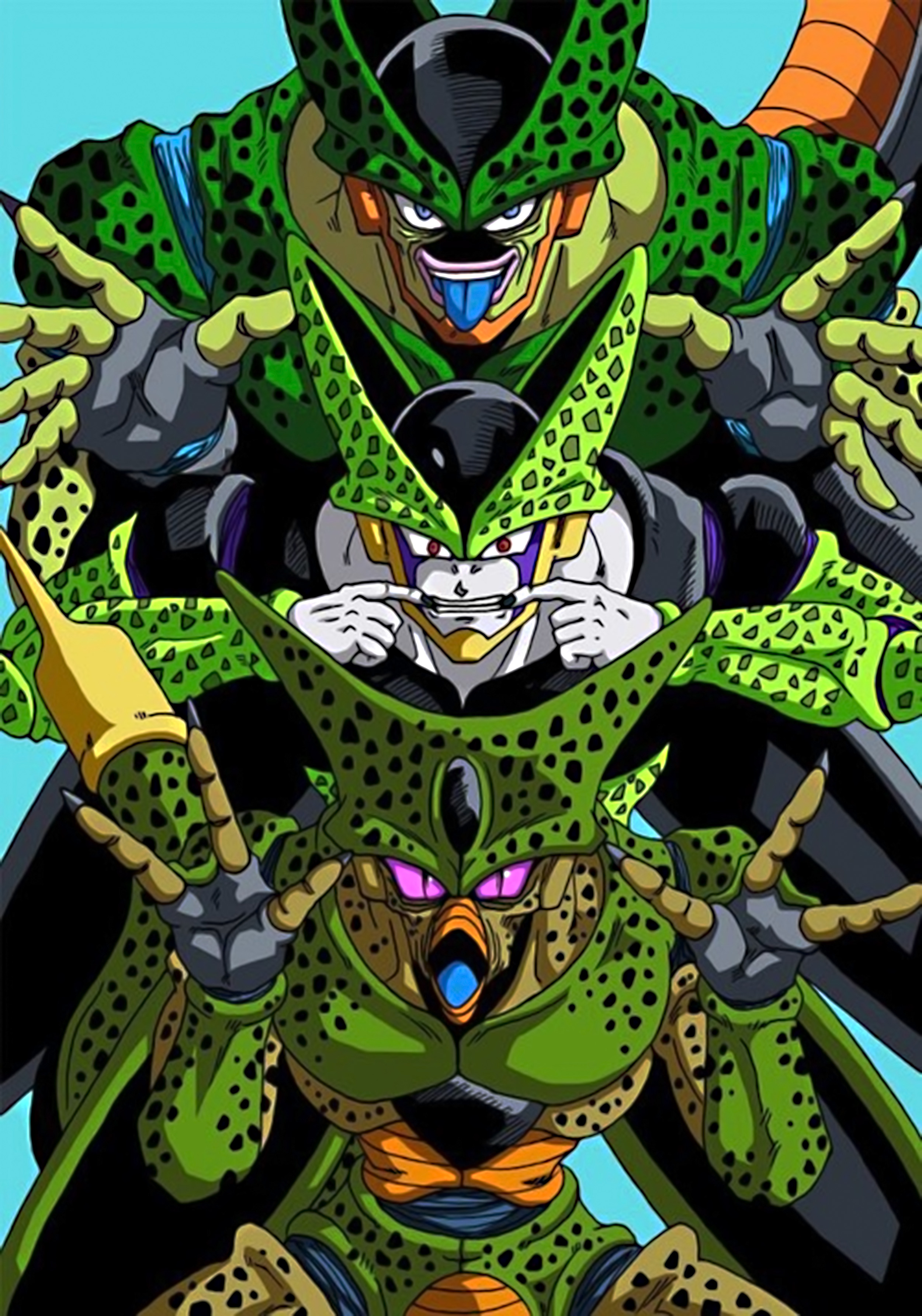 dragon ball z what would happen if cell fought majin buu